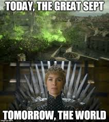 Queen Meme Generator - cersei the mad queen imgflip