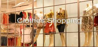 clothes shop esl clothes shopping