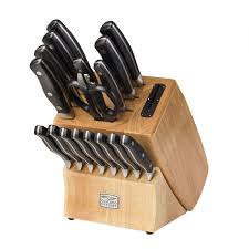 chicago cutlery insignia2 steel 18 pc block set shop world kitchen