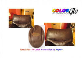 Leather Sofa Color Restoration by Leather Furniture Restoration Color Glo Ireland