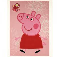 peppa pig butterfly rug great kids bedrooms the children