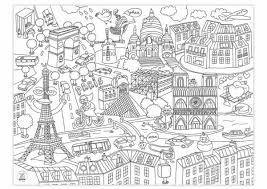 coloriage france paris paris le louvre dessincoloriage