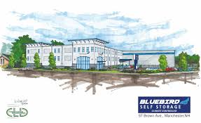 Cost To Build A House In Nh by Storing It Up For The Future Bluebird Self Storage Building New
