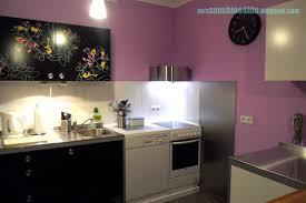 ikea edelstahl küche sunshine4life diy küchen wandpaneel in edelstahloptik befestigen