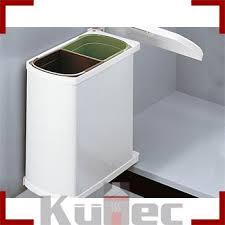 mülleimer küche einbau einbau abfallsammler hailo 16 l weiß mülleimer schwenkbar 45 cm