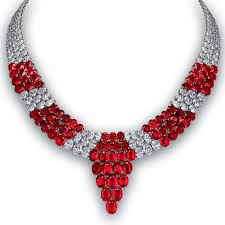 diamond necklace red images Pigeon blood ruby and diamond necklace jacob co timepieces png