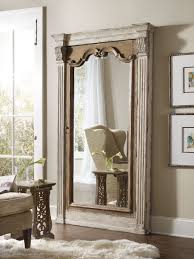 hooker furniture accents chatelet floor mirror w jewelry armoire