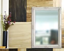 Framed Bathroom Vanity Mirrors by Many Sizes Available Silver Framed Bathroom Mirror Framed