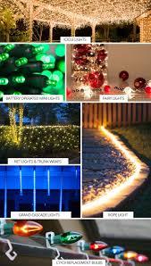 Christmas Light Ideas For Outside Christmas Diy Outdoor Christmas Light Ideas Decorating