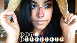 diy scarecrow makeup hair u0026 costume youtube
