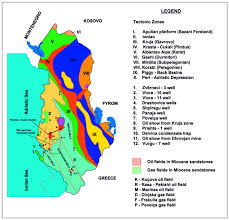hydrocarbon occurrences and petroleum geochemistry of albanian