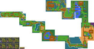 Phantasy Star Maps The Video Game Atlas Game Gear Maps