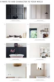 paneling how to add character to basic architecture wall paneling emily