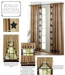 burlap country curtains u2013 bazaraurorita com