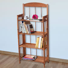solid wood bookcases walmart com rollback lavish home 4 shelf