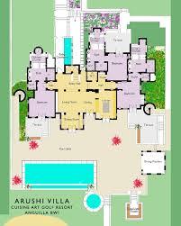 Villa Floor Plans Arushi Villa Anguilla Villa Rental Floor Plans