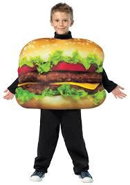 Funny Halloween Costumes Kids Child Cheeseburger Costume
