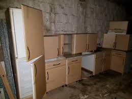 buche küche küche einbauküche inclusive e geräte im farbton buche hell in