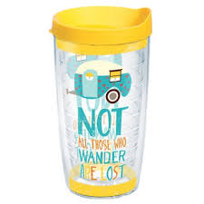 tervis tumbler not all those who wander are lost insulated wrap