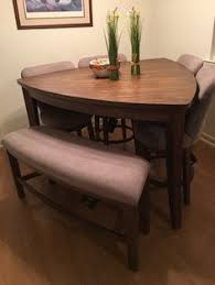 compact dining table and chairs all tucked in hans olsen s super space saving dining set dining