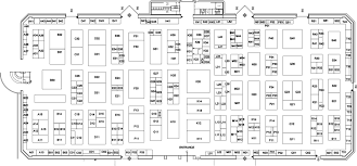 Company Floor Plan by Aes 110th Convention Exhibitors