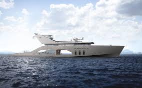 108m mega yacht concept hareide design