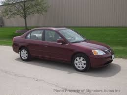 2002 used honda civic 4dr sedan ex manual at signature autos inc