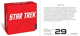 amazon black friday videogames calendar a collection of new star trek calendars debut for 2018 trekcore blog