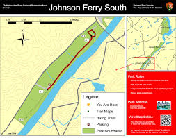 Chattahoochee River Map Chattahoochee River National Recreation Area Johnson Ferry South