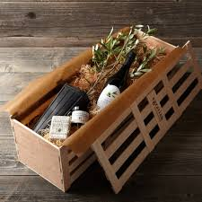 olive gifts the olive crate living olive tree and gift set so that s cool