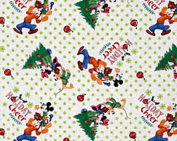 mickey mouse wrapping paper mickey mouse tree etsy
