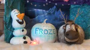 olaf and sven pumpkins jpg 1920 1080 party winter frozen