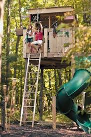 Backyard Play Forts by Tree Fort Ladder Gate Roof Finale Kids Tree Forts Backyard