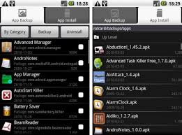 app manager for android application manager android app backup install uninstall apps