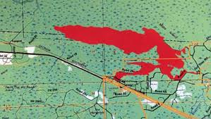 Fl Wildfire Map by Okefenokee Swamp Fire Quadruples In Acreage Since Sunday