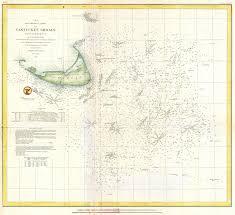 Nantucket Map File 1854 U S Coast Survey Nautical Chart Or Map Of Nantucket