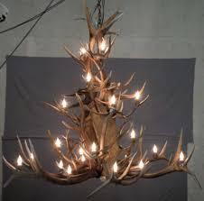 quandary peak antler chandelier large 3 tier elk moose u0026 deer