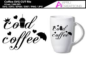 coffee cup silhouette png cold coffee svg cut file printable co design bundles