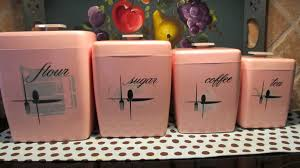retro kitchen canisters pink kitchen canisters bodhum organizer