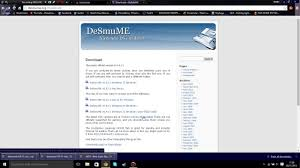 desmume apk how to ds emulator on pc