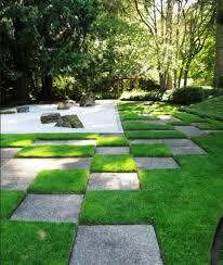 zen garden with boulders and pathway peaceful and beautiful zen