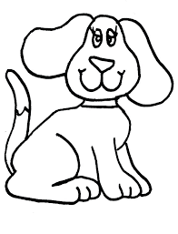 dog coloring pages for toddlers dog coloring pages for kids hetra info