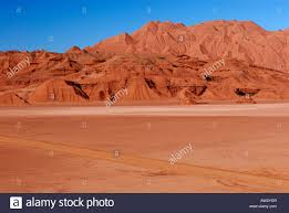 Tolar tolar grande in the high andean plateau province of salta stock