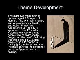 supernatural themes in hamlet hamlet theme essay appearance vs reality in hamlet essay ideas