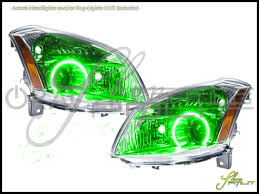 nissan maxima brake light switch oracle 07 08 nissan maxima led dual color halo rings headlights bulbs