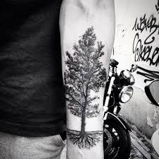 black tree best tattoo design ideas