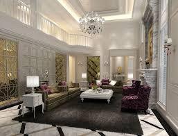 living room yellow armchair dark brown leather sofa ultra modern
