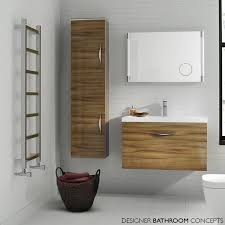 Wall Mount Bathroom Cabinet by Memoir Designer Tall Wall Hung Bathroom Cabinet Gloss Walnut
