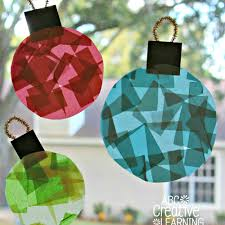 glass stained window ornaments craft