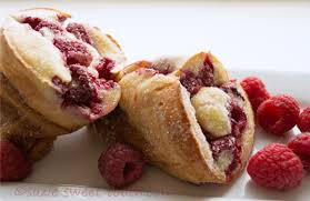 sugared raspberry popovers suzie sweet tooth